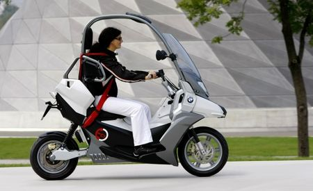 A Second Life for BMW's Curious C1 Scooter