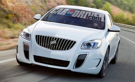 Blazing Buicks! 335-hp Regal GS, Regal Sport Wagon Being Discussed