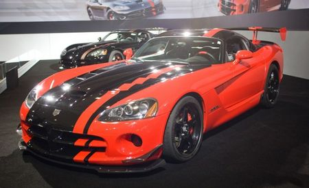 2009 Dodge Viper SRT10 ACR Nürburgring-Record-Breaking Car Shows Face in L.A.