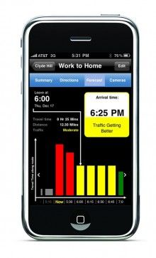 INRIX Improves Traffic Information for Sync, Creates iPhone App
