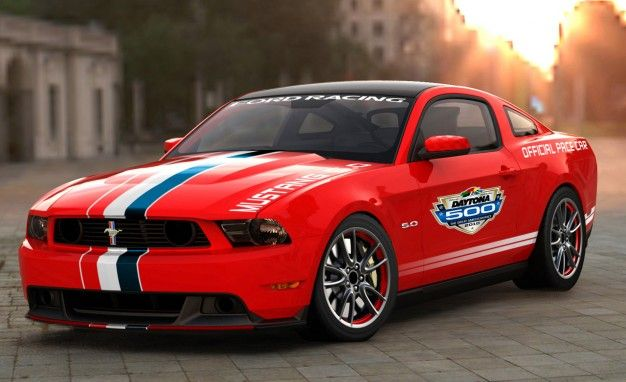 2011 Ford Mustang GT to Serve as Daytona 500 Pace Car