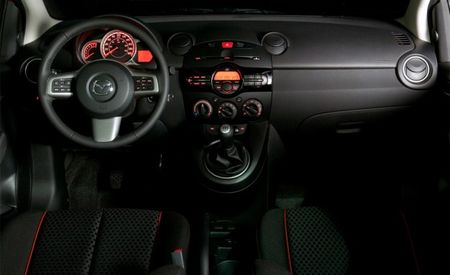 2011 Mazda 2 Interior Unveiled