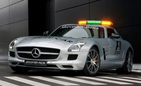 Mercedes-Benz SLS AMG to Serve as Formula 1 Pace Car