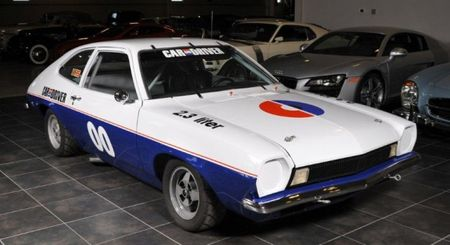 Found on eBay: 1972 <em>Car and Driver</em> Ford Pinto IMSA Race Car