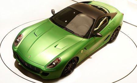 Ferrari 599 Hybrid Images Leaked Before Geneva Unveil