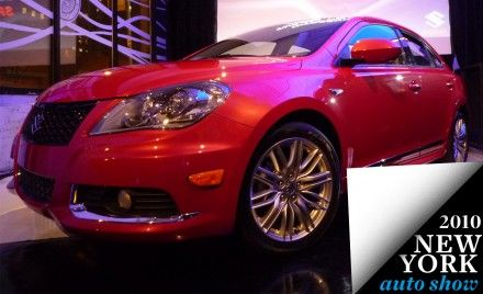 2011 Suzuki Kizashi Sport Appears Before New York Show