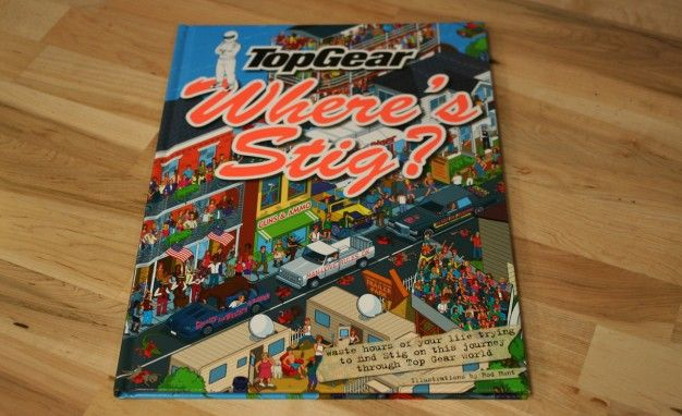 """Gearbox Surplus: Top Gear's """"Where's Stig"""" [Book Review]"""