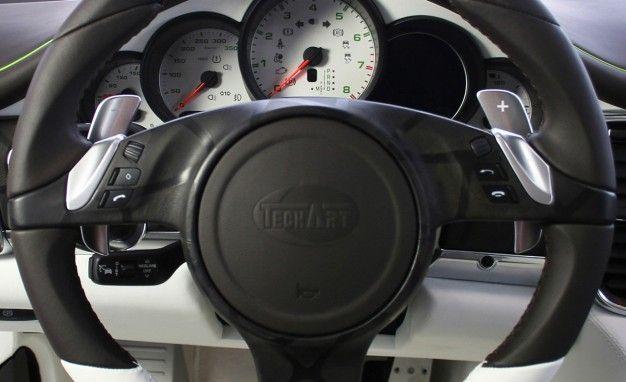 TechArt Offers Retrofit for Porsche PDK Shift Paddles