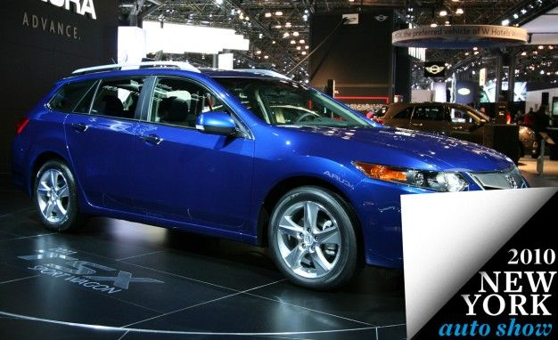 Acura TSX Sport Wagon Headed for New York Debut