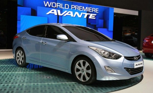 Next Hyundai Elantra Previewed by Korean-Market Avante