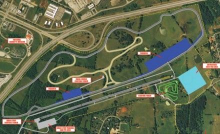 National Corvette Museum Planning Motorsports Park with Road Courses, Drag Strip