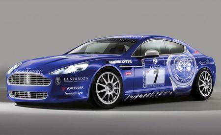 Aston Martin Unveils Rapide Race Car
