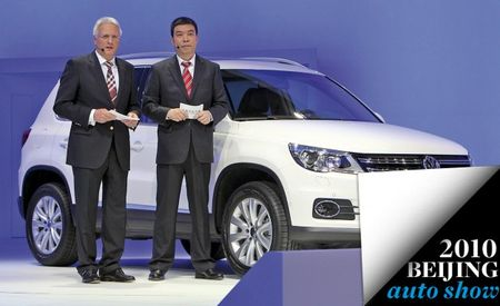Face-Lifted Volkswagen Tiguan Appears in Beijing