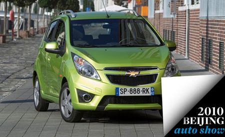 "Chevrolet Spark Renamed ""New Sail"" For China"