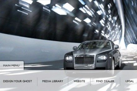 Rolls-Royce Creates Mostly Useless Ghost Configurator iPhone App