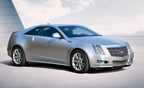 2011 Cadillac Cts Coupe Cts Em V Em Coupe Pricing Announced