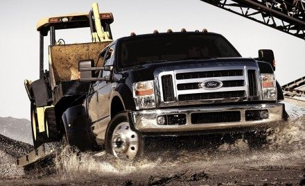 Ford Adds CNG and LPG Options for F-450, F-550