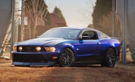 Vaughn Gittin, Jr.'s Mustang RTR Updated for 2011