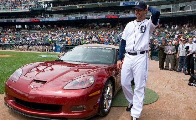 Chevrolet Gives Wronged Detroit Tigers Pitcher a Corvette