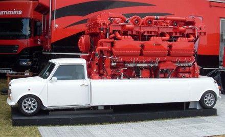 Cummins Puts a 3500-hp Engine In (Well, On) an Original Mini
