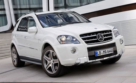 Mercedes-Benz ML63 AMG Gets a Face Lift for 2011