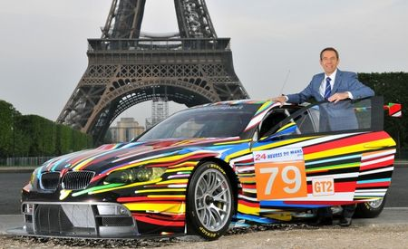 BMW and Jeff Koons Unveil M3 GT2 Art Car