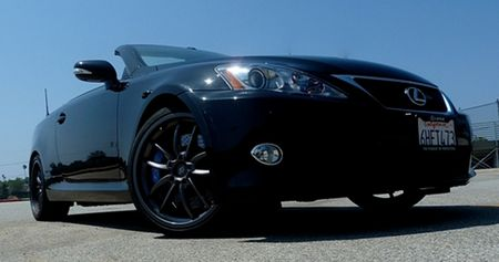 One F-ed Up Lexus: 2010 Lexus IS350C F-Sport Special Edition Driven