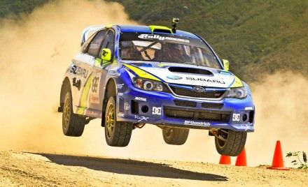 Subaru Debuts 2011 WRX STI-based Rally Cars for X Games