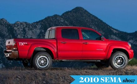 Toyota Launches SEMA-Inspired Accessory Packages for 2011 Tacoma