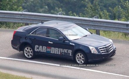 2012 Cadillac ATS Spy Photos