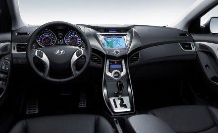 Next Hyundai Elantra Interior Previewed by Home-Market Avante