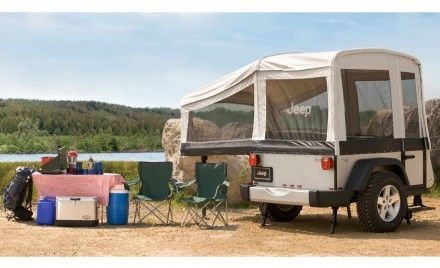 Jeep Launches Wrangler-Inspired Off-Road Camper Trailers