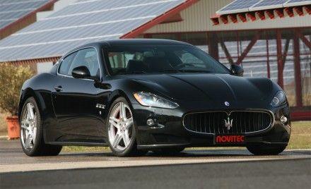 Novitec Tridente Tunes Maserati Quattroporte and GranTurismo