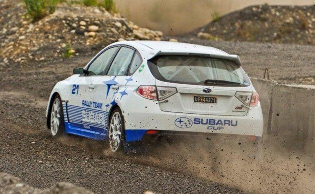 Rally 101 in a Subaru Cup Impreza WRX STI