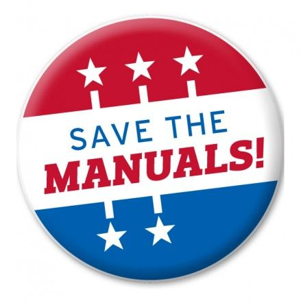 Save the Manuals Contest: Show Us Your Knob