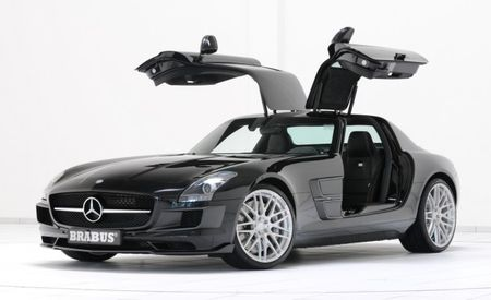 Brabus Tackles the Mercedes-Benz SLS AMG, Actually Leaves It Recognizable