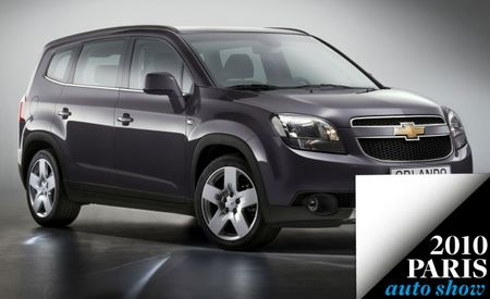 Chevrolet Orlando to Debut at Paris Auto Show (It's Still Not Coming Here)