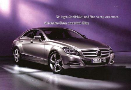 <em>Danke!</em> German Brochure for Next-Gen Benz CLS Leaks