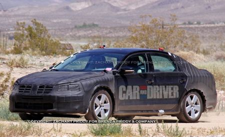2012 Volkswagen New Mid-Size Sedan Spy Photos