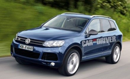 Volkswagen Touareg R Rendered; Will Use Diesel V8, Likely Hit U.S. by 2012