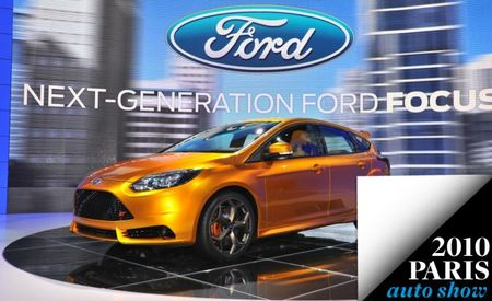 2012 Ford Focus ST Officially Revealed at Paris Auto Show