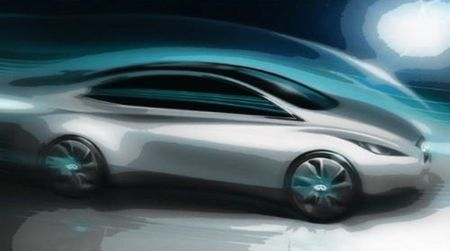 Infiniti Goes Compact With Leaf-Based EV and Something Sporty