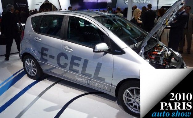 Mercedes-Benz to Lease Electric A-class E-cell (Elsewhere)