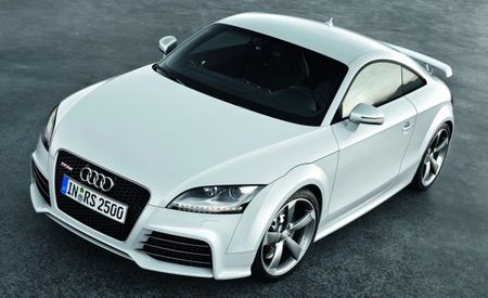 Hooray! Audi TT RS Confirmed for U.S., Should Arrive by Late 2011