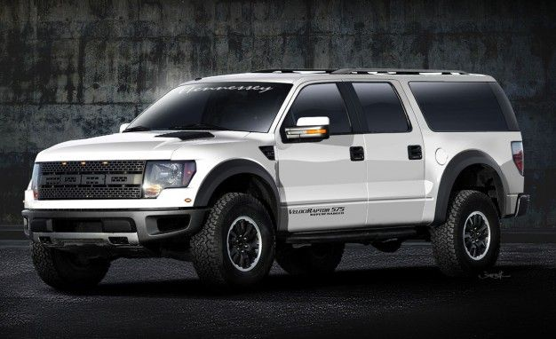 Hennessey Turns Ford F-150 SVT Raptor into Armored SUV