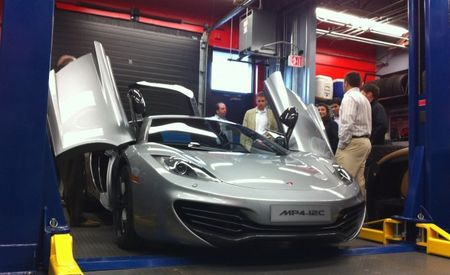 Look What Stopped By: 2012 McLaren MP4-12C (Pics and Video)