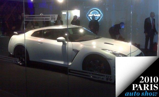 Paris 2010: Nissan's GT-R Teaser