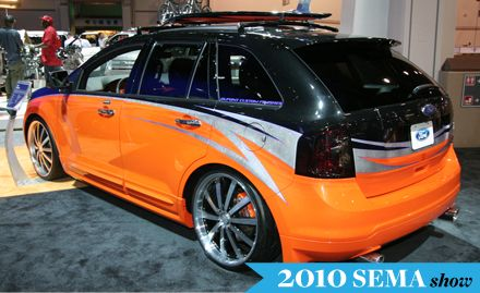 2011 Ford Edge, Lincoln MKX Headed to SEMA Show