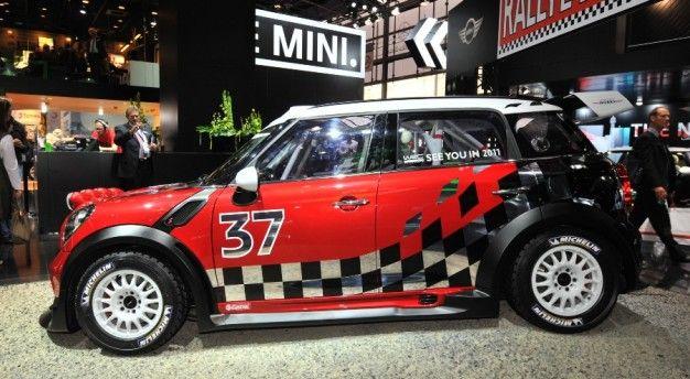 WRC-Ready Mini Countryman Debuts in Paris