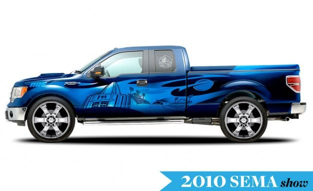 Seven Modified Ford F-series Trucks for SEMA